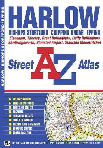 Harlow Street Atlas - A-Z Street Atlas S. (Paperback)