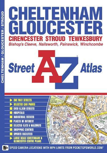 Cheltenham & Gloucester Street Atlas - A-Z Street Atlas S. (Paperback)