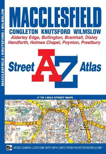 Macclesfield Street Atlas - London Street Atlases (Paperback)