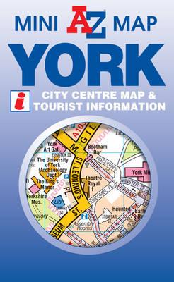 York Mini Map - A-Z Mini Map S. (Sheet map, folded)