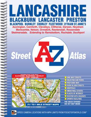 Lancashire County Atlas (Spiral bound)