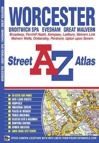 Worcester Street Atlas - London Street Atlases (Paperback)