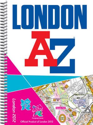 London 2012 Street Atlas - London Street Atlases (Spiral bound)