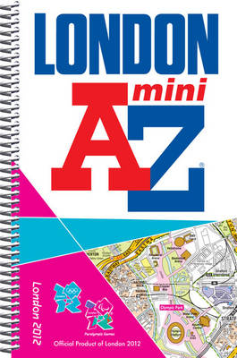 London 2012 Mini Street Atlas - London Street Atlases (Spiral bound)