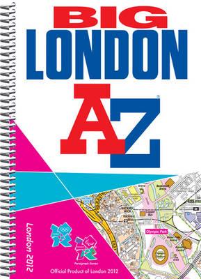Big London 2012 Street Atlas - London Street Atlases (Spiral bound)