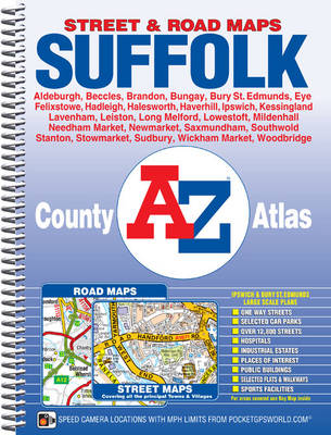 Suffolk County Atlas - A-Z County Atlas (Spiral bound)