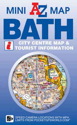 Bath Mini Map - A-Z Mini Map S. (Sheet map, folded)