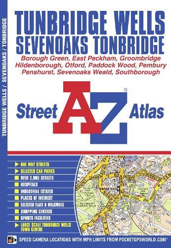 Tunbridge Wells Street Atlas - A-Z Street Atlas S. (Paperback)
