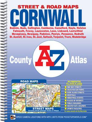 Cornwall County Atlas - A-Z County Atlas (Spiral bound)