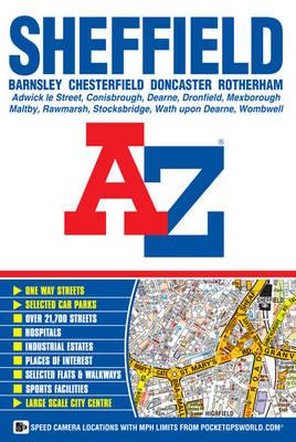 Sheffield Street Atlas - A-Z Street Atlas (Paperback)