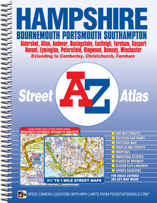Hampshire County Atlas - A-Z County Atlas (Spiral bound)