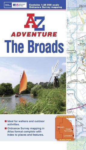 The Broads Adventure Atlas - A-Z Adventure Atlas (Paperback)