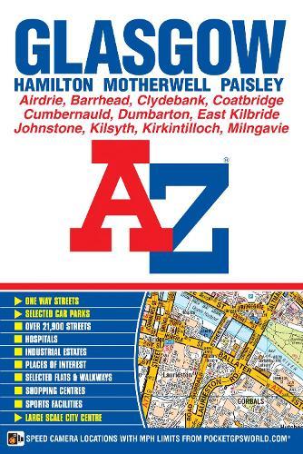 Glasgow Street Atlas - A-Z Street Atlas (Paperback)