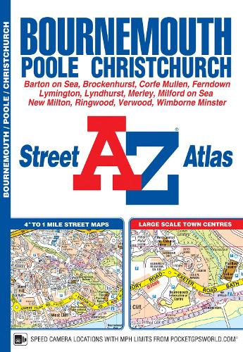 Bournemouth Street Atlas - A-Z Street Atlas (Paperback)