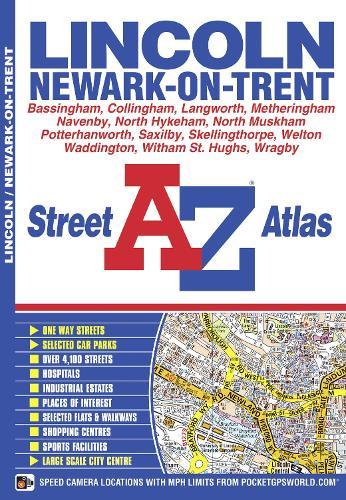 Lincoln Street Atlas - A-Z Street Atlas S. (Paperback)