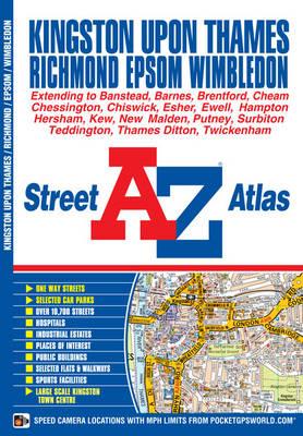Kingston on Thames Street Atlas - A-Z Street Atlas (Paperback)