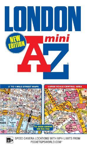Mini London Street Atlas - London Street Atlases (Paperback)