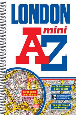 Mini London Street Atlas - London Street Atlases (Spiral bound)