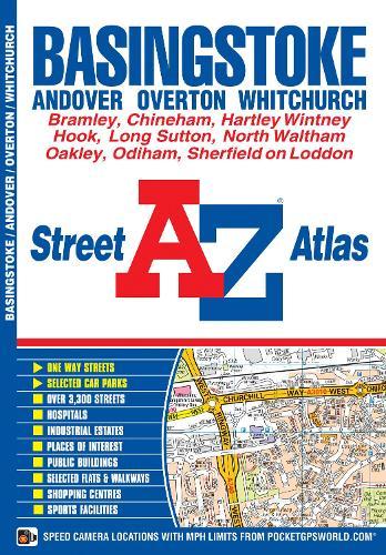 Basingstoke Street Atlas - A-Z Street Atlas S. (Paperback)