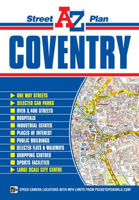 Coventry Street Plan - A-Z Street Maps (Sheet map, folded)