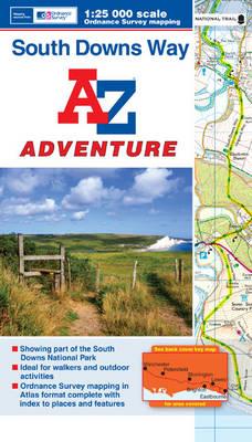 South Downs Way Adventure Atlas (Paperback)