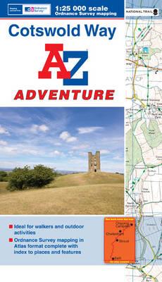 Cotswold Way Adventure Atlas - A-Z Adventure Atlas (Paperback)