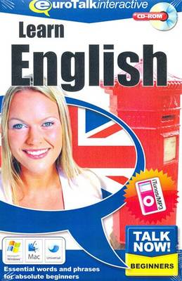 Talk Now! Learn English: Essential Words and Phrases for Absolute Beginners (CD-ROM)