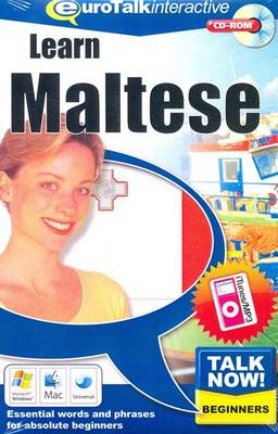 Talk Now! Learn Maltese: Essential Words and Phrases for Absolute Beginners (CD-ROM)