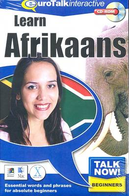 Talk Now! Learn Afrikaans: Essential Words and Phrases for Absolute Beginners (CD-ROM)