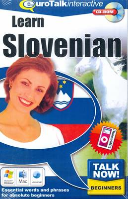 Talk Now! Learn Slovenian: Essential Words and Phrases for Absolute Beginners (CD-ROM)