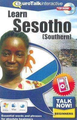Talk Now! Learn Sesotho (Southern): Essential Words and Phrases for Absolute Beginners (CD-ROM)