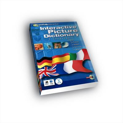 Multilingual Picture Dictionary: English-French-Italian-German-Spanish (CD-ROM)
