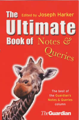 The Ultimate Book Of Notes & Queries (Paperback)