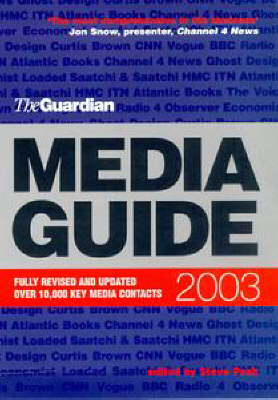 """The """"Guardian"""" Media Guide 2003 (Paperback)"""