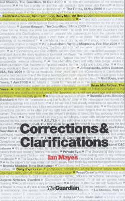 Corrections & Clarifications 2002 (Paperback)