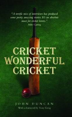 Cricket, Wonderful Cricket (Hardback)