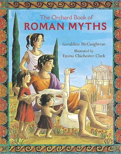 The Orchard Book Of Roman Myths (Paperback)