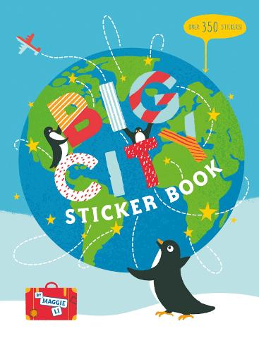 Big City Sticker Book (Paperback)