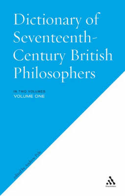 Dictionary of Seventeenth-century British Philosophers (Paperback)