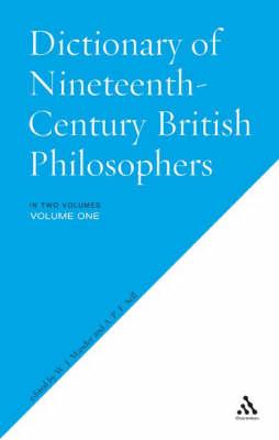 Dictionary of Nineteenth-century British Philosophers (Paperback)