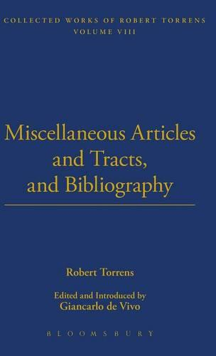 Miscellaneous Articles and Bibliography - Thoemmes Library of Economics 8 (Hardback)
