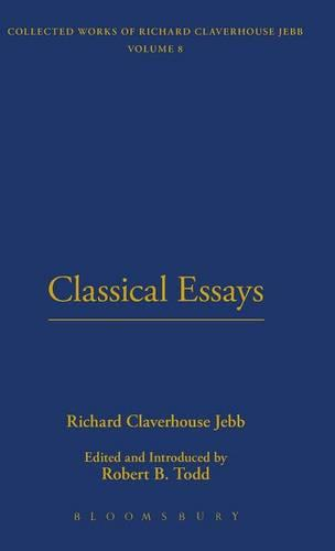 Classical Essays - The Thoemmes library of Classics & Ancient philosophy No 11 (Hardback)