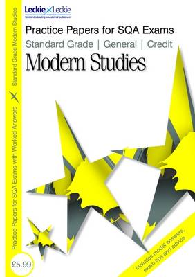 General/ Credit Modern Studies - Practice Papers for SQA Exams (Paperback)