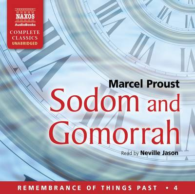 Sodom and Gomorrah - Remembrance of Things Past 4 (CD-Audio)