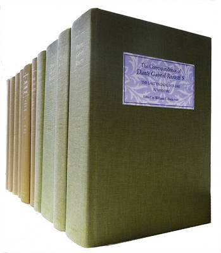 The Correspondence of Dante Gabriel Rossetti: set (Hardback)