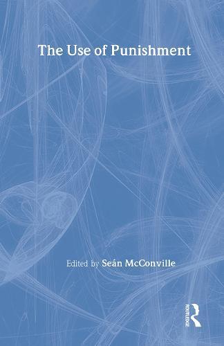 The Use of Punishment (Hardback)
