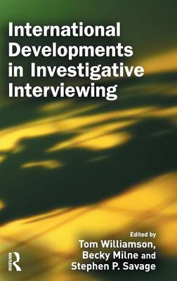 International Developments in Investigative Interviewing (Hardback)