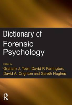 Dictionary of Forensic Psychology (Paperback)