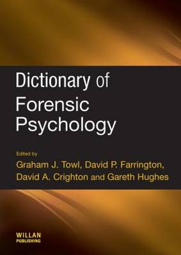 Dictionary of Forensic Psychology (Hardback)