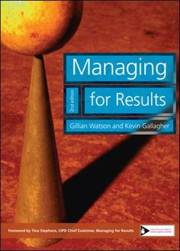Managing for Results (Paperback)